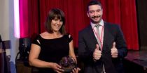 Albert Kapovic Award given to Ankica Juric Tilic